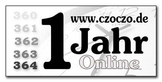 czoczo.de wird 1 Jahr