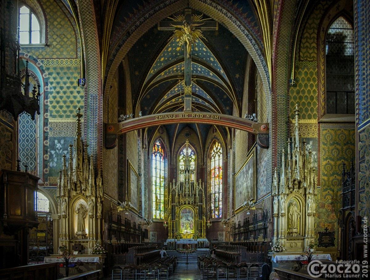 20190704-Krakau-Kirche-Heilige-Franziskus-von-Assisi-000353